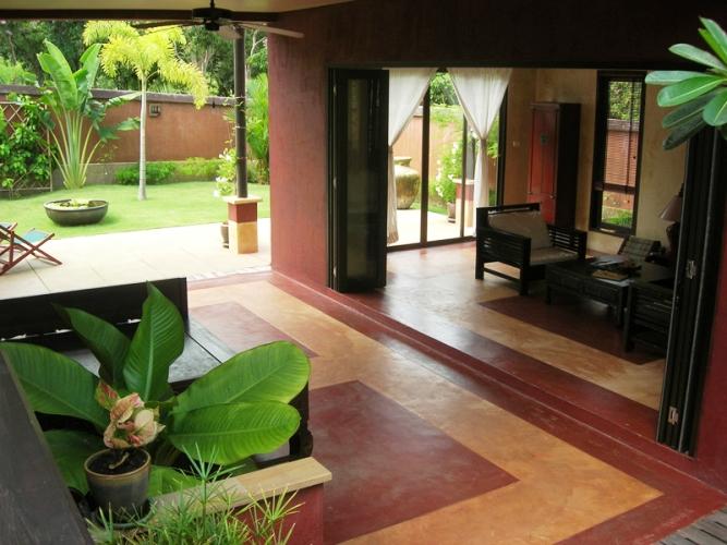 Klong Khong Seaview Vills Lounge ,Ko Lanta