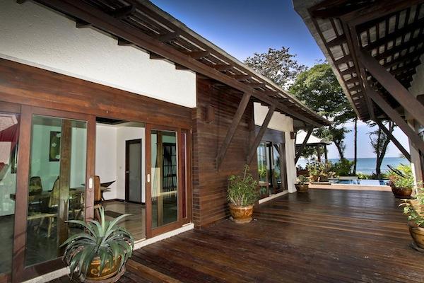 Klong Nin Beacnfront Villas For Rent, image copyright KoLanta.net