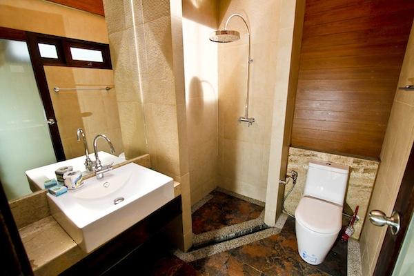 Klong Nin Beach Front Villa Bathroom,Koh Lanta