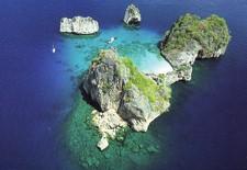 Ko Haa Aerial View