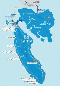 Ko Lanta Map